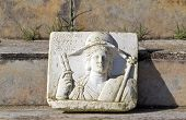 picture of isis  - Archaeological site of ancient Dion of Katerini city in north Greece Temple of Isis - JPG
