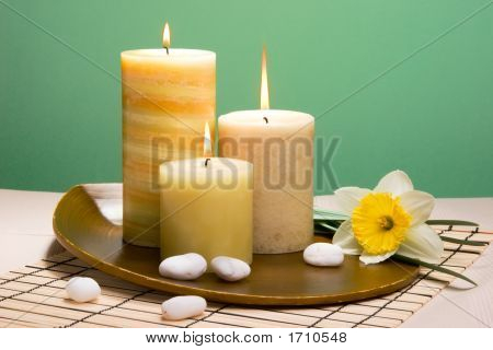 Daffodiles Aroma Therapy Set