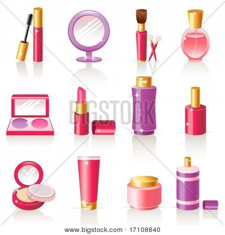 iconos de cosméticos