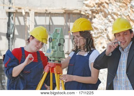 Geodesy Workers
