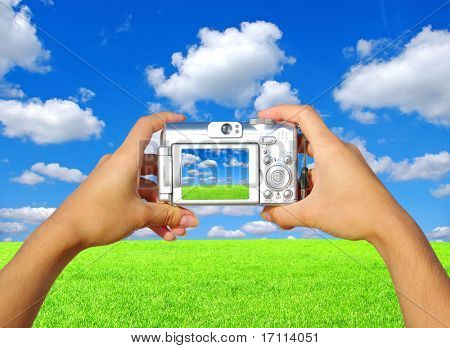 Kompakt Digitalkamera