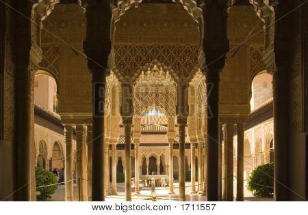 Columnas de la Alhambra