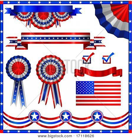Elementos patrióticos americanos