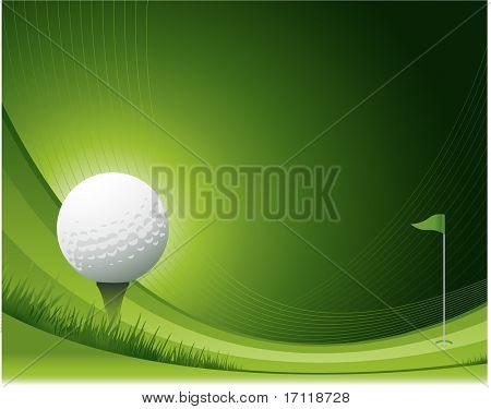 Fundo de golfe