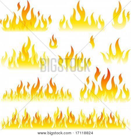 Vlam symbolen