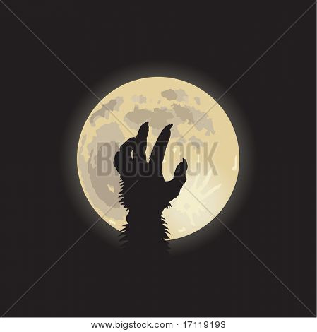 Werewolf moonlight
