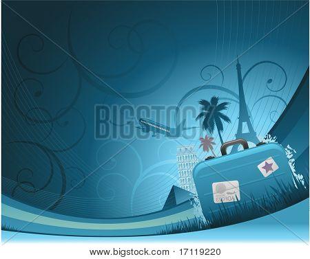 Reisen-Hintergrund
