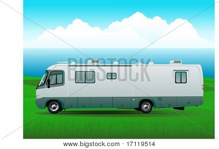 Travel rv background