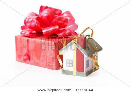 Wohnen in einem Geschenk
