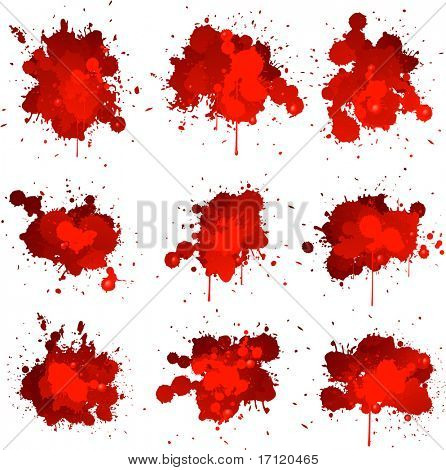 Blood splat collection