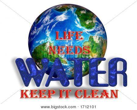 Life Needs Water