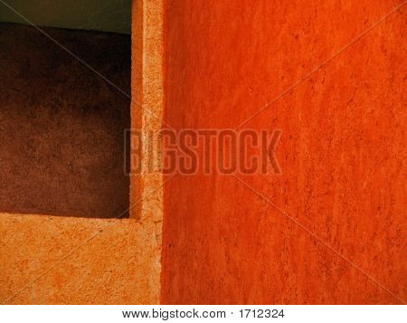 Mexican Fire Orange Wallscape No. 3