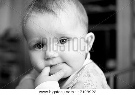 Little Child Baby Portrait