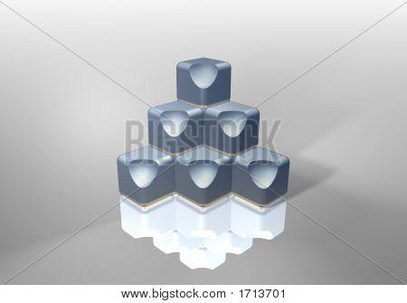 Cube Pyramid