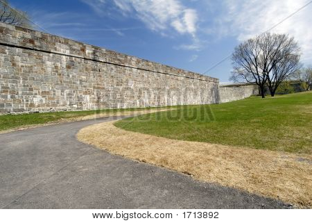 The Fortified Walls Of Quebec City