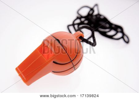 Basketball whistle