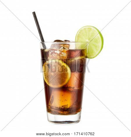 Cocktail Cola lime