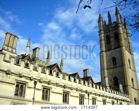 Oxford Scenery And Architecture, United Kingdom