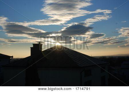 Sky Over A House