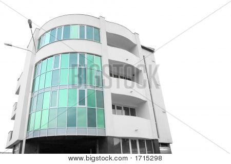 Building Of Hotel