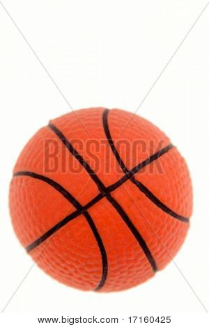 Basketball, isolated on white background