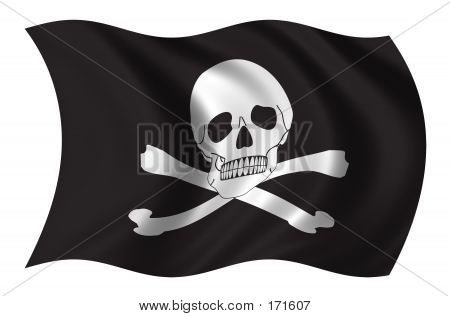 Piraten Flagge