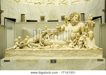 river-god Nile, Vatican Museum