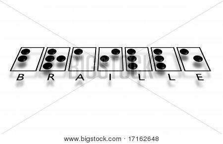 Braille-text