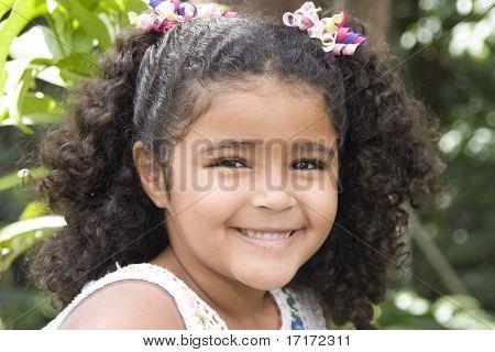 Happy Beautiful Little Girl
