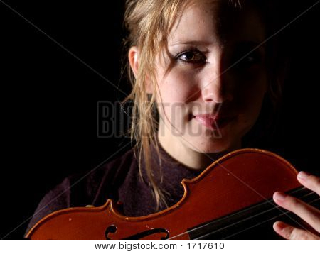 Violin On Black (Series)