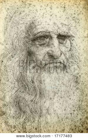 Autoretrato de Leonardo da Vinci, 1512