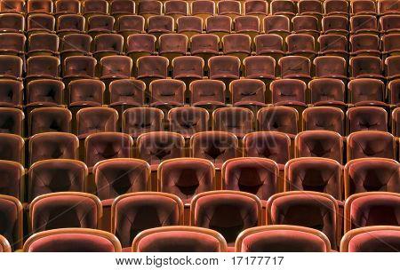 Asientos de teatro