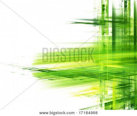 Abstraktes Element. In roten, grünen und blauen Farben weiß und schwarz erhältlich.