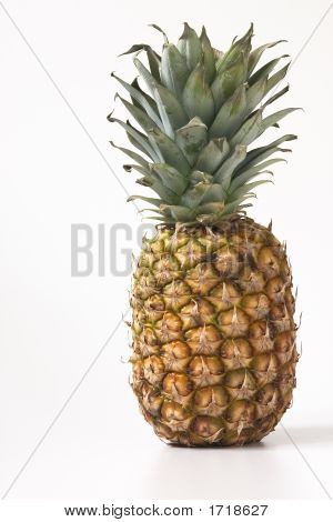 Pineapple Right On White