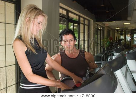 Man And Woman Exercising 6
