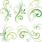 picture of motif  - Spring swirls motifs - JPG