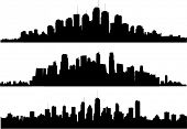picture of city silhouette  - City silhouette - JPG