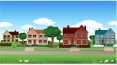 image of hen house  - Vector houses real estate - JPG