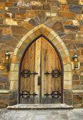 Medieval Doorway poster