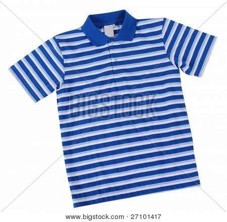 Polo shirt. Isolated