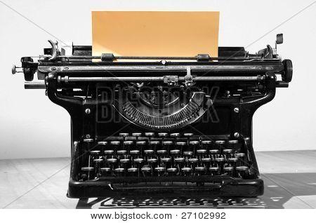 Antique type writer.