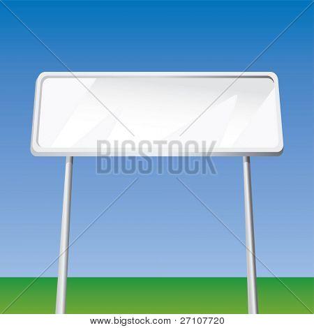 Blank Billboard (Fully Editable Vector Image)