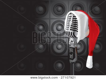 Christmas Music Event (vector). In the gallery also available XXL jpeg image made from this vector