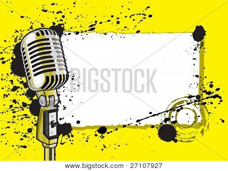 Music Event Design (vector). In the gallery also available XXL jpeg image made from this vector