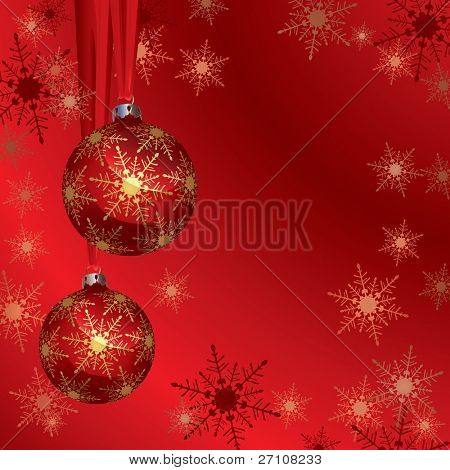 Christmas Background (vector). In the gallery also available XXL jpeg image made from this vector