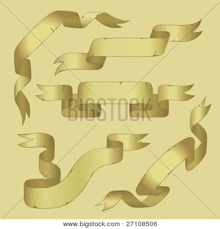 Banners (vector). In the gallery also available XXL jpeg image made from this vector