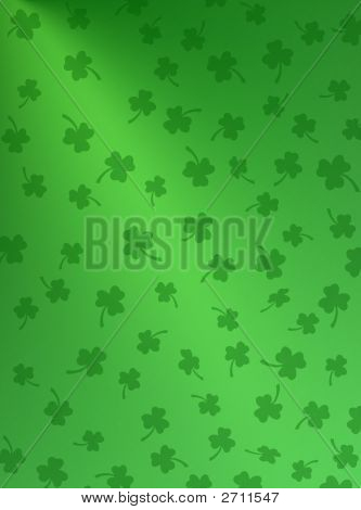 Green On Green Shamrocks