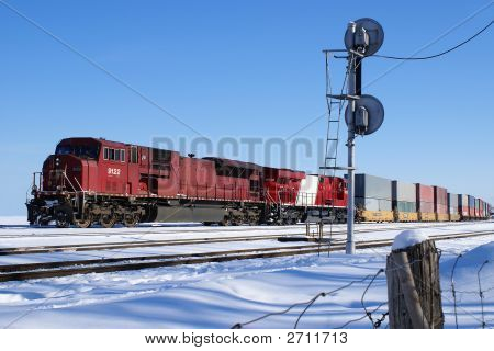 Train With Cargo