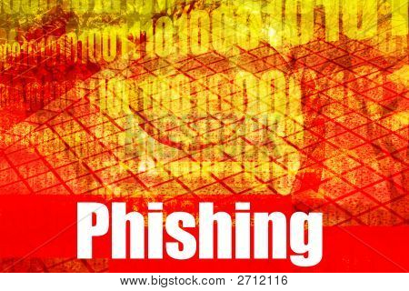 Thema Phishing heißen Online Web Security