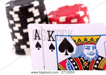 Ace King Spades